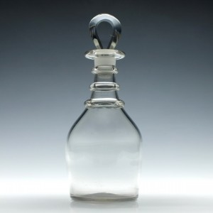 Pint Sized Georgian Shoulder Decanter c1815