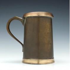 Brass Quart Tankard c1915