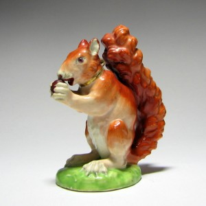 Derby Model Of A Squirrel c1820