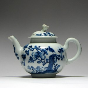 Early Worcester Teapot 1754-60