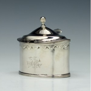 Silver Mustard Pot Newcastle c1800