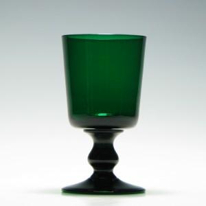 Rare 19th Century Bristol Green Rummer c1870