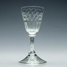 Hollow Stem Liege Wine Glass c1720