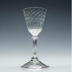 18th Century Liege Wine Glass c1720