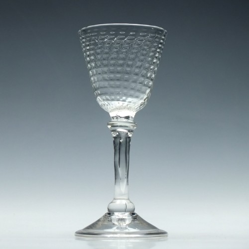 18th Century Liege Wine Glass c1750