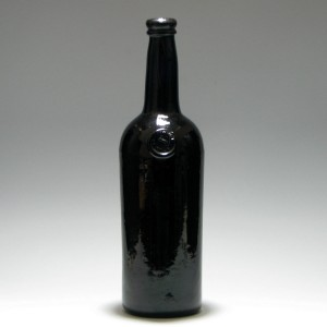 Honourable Society of The Middle Temple Sealed Bottle c1835
