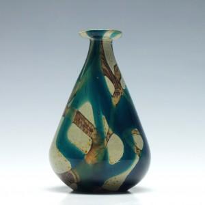 Mdina Tiger Pattern Glass Vase 2007