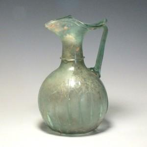 Large Roman Trefoil Mouth Flask c200 AD