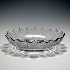 Large Irish Cut Glass Serving Bowl c1810