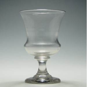French Wine Goblet c1880