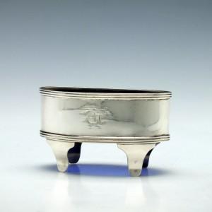 19th Century Silver Standing Salt - York 1811