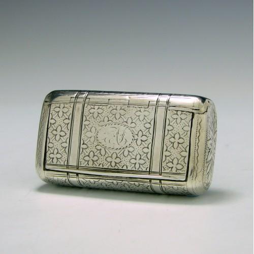George III Silver Snuff Box Birmingham 1807