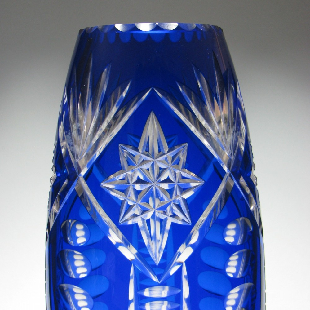 top and circa cut finely art detail blue bottle with glass bristol hinged overlay silver antiques vase deeply perfume