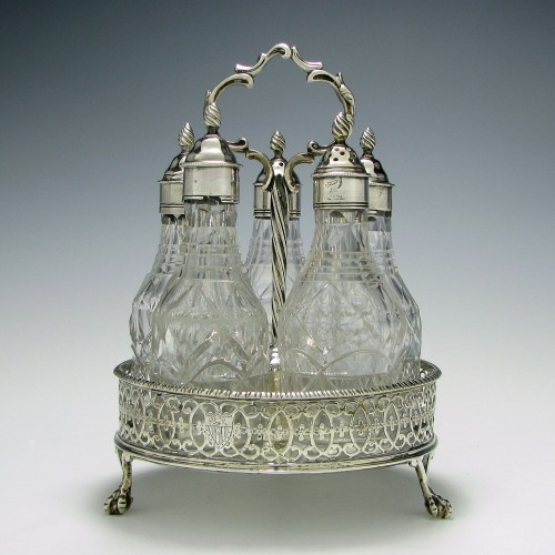Baronetcy of Blackwell Cruet Set  1771