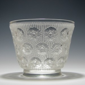 Rene Lalique Edelweiss Vase 1937