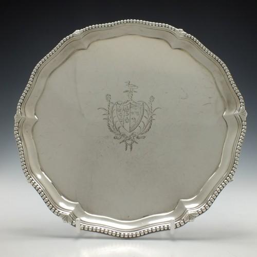 Silver Salver Reid Impaling Seton London 1780