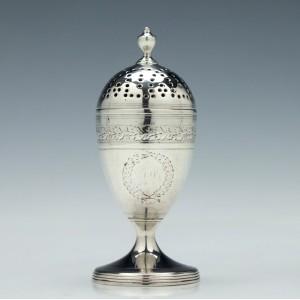 Silver Pepperette London 1800