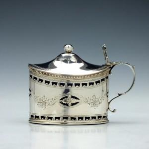 Thomas Shepherd Silver Mustard Pot London 1789
