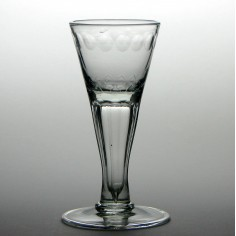18th Century German Wine Glass c1760