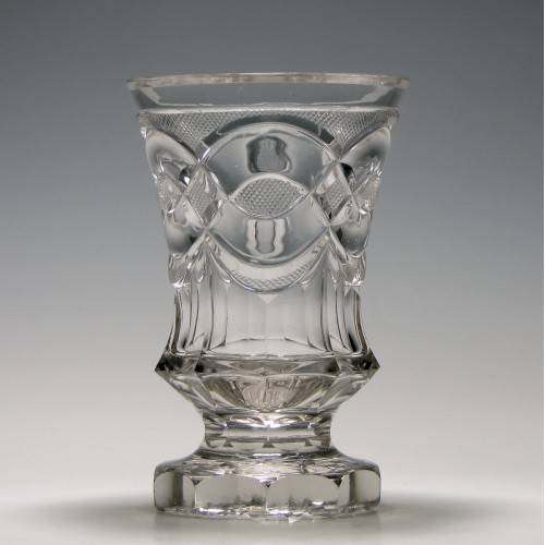 Bohemian Cut Glass BTumbler c1850