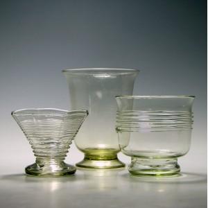 A Trio of 19th Century Ehrenfeld Glasses