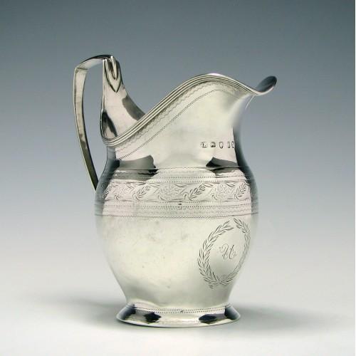 Georgian Silver Cream Jug 1798
