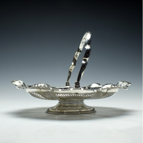 Silver Plate Fruit Basket Atkins Brothers Sheffield c1890