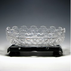 Large Waterford Crystal Heritage Collection Kennedy Bowl