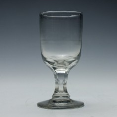 19th Century Glass Rummer c1870