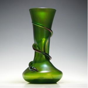 Kralik Iridescent Snake Vase