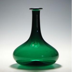 19th Century Green Wine Carafe c1840