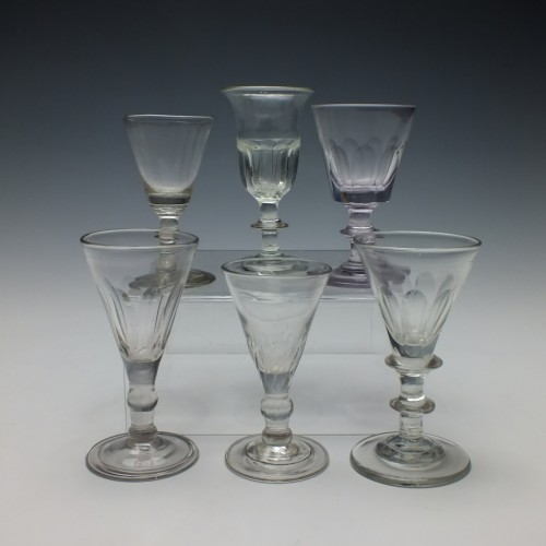 Collection of Six 19th Century Glasses c1820