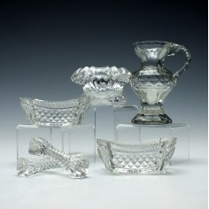 A Collection of Vintage Table Glasswares