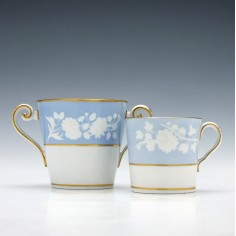 Spode Porcelain Coffee Can & Chocolate Cup c1815