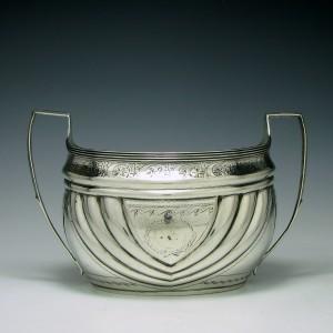 Silver Sugar Bowl Sheffield 1804