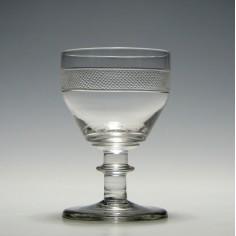 Georgian Port Wine Glass c1810