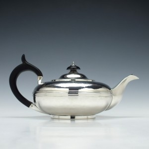 George IV Silver Teapot London c1823