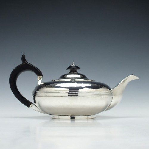 George IV Silver Teapot London c1823