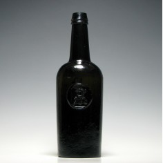 Creagh Family Sealed Rickets Patent Wine Bottle c1820