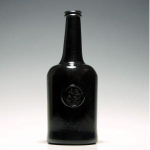 Oxford All Souls Common Room Glass Bottle c1770