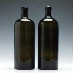 Pair of 19th Century Mineral Water Bottles c1900