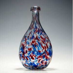 Large 19th Century Nailsea Glass Carafe c1840