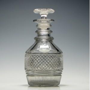 Georgian Cylinder Spirit Decanter c1830