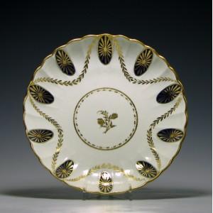 Caughley Porcelain Dish c1790