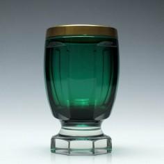 Gilded Green Beaker c1880