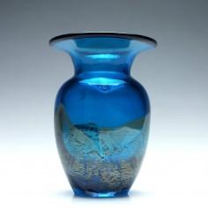 Mdina Aventurine Glass Vase 2001