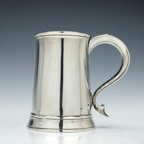 Silver George III Pint Tankard 1791