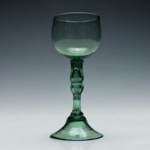 English Export Wine Glass c1750
