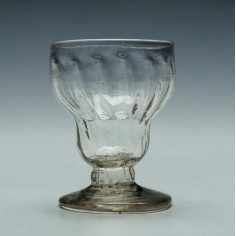 Georgian Montieth or Bonnet Glass c1780