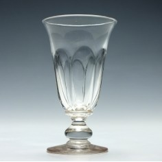 19th Century Petal Moulded Jelly Glass